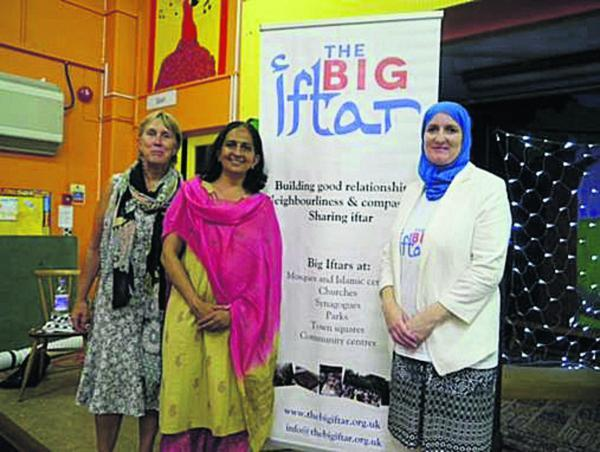 Left to right, headteacher Rachel Crouch, chairwoman of governors Shilpa Bhatt an