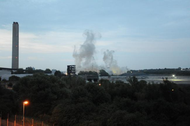 'Strong smell of gas' just part of Power Station demolition preparations, says RWE