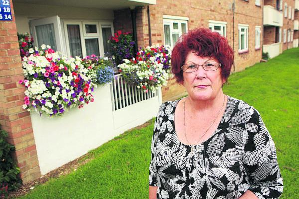 Betty Fletcher is among Northway residents fighting to stop the road