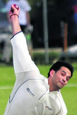 Cowley International's Ayaz Khan took 9-42 in their 65 -run win against Minster Lovell