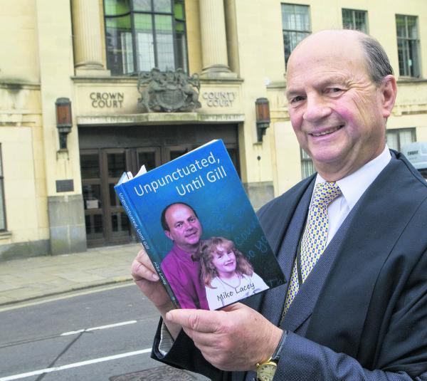 SELECTION: Court usher Mike Lacey has written a book of poetry
