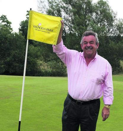Tony Jacklin is lending his expertise to a new par three course at Magnolia Park	 Pictures: Steve Wheeler Order no: OX68976