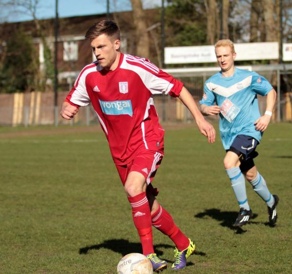 Wantage Town's on-loan Swindon defender Matt Jones