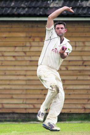 Adam Krol's spell of 6-29 helped Horspath go to the top of the Division 2 table after a four-wicket win at Dinton