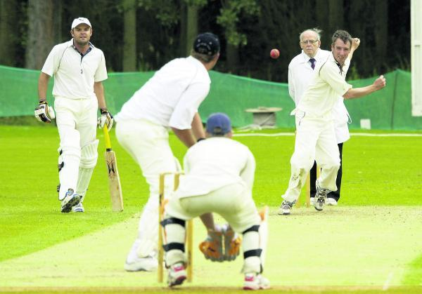 Westbury skipper Richard Tredwell , bowling, took four key wickets in his side's win over Oxenford.