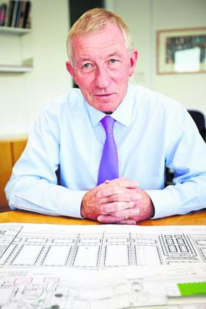 Michael Puttick, managing director of building firm Kingerlee