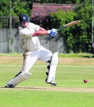 Robbie Eason top-scored with 77not out for Horspath