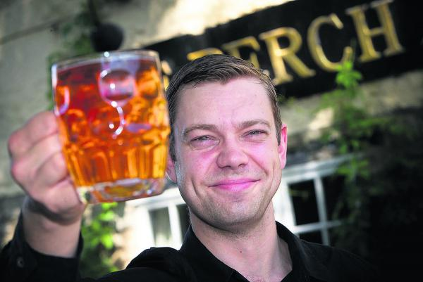 Martin Cooper of The Perch, Binsey, which is planning a beer and cider festival next month