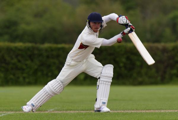 Chad Keegan hit 84 off 97 balls for Oxfordshire