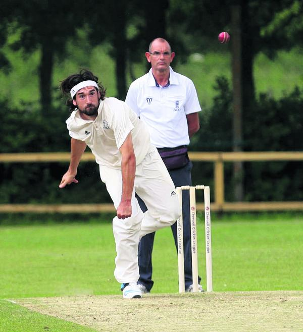 Adam Price shone with bat and ball for Oxford 2nds against Cumnor