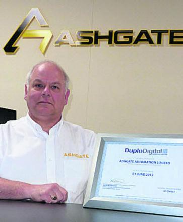 John Price, managing director of Ashgate Automation
