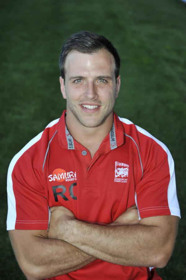 Rhys Crane starts for London Welsh at Pontypridd today