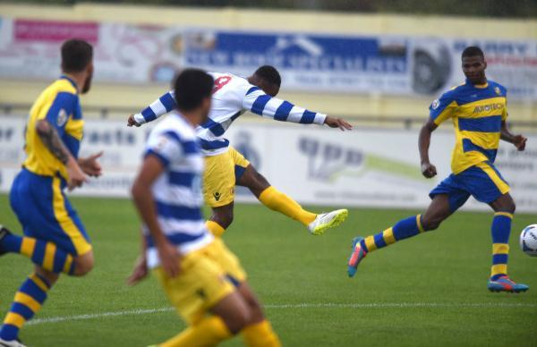 Adi Yussuf fires Oxford City into an early lead
