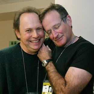 Billy Crystal, left, pictured with Robin Williams, paid tribute to the late ac
