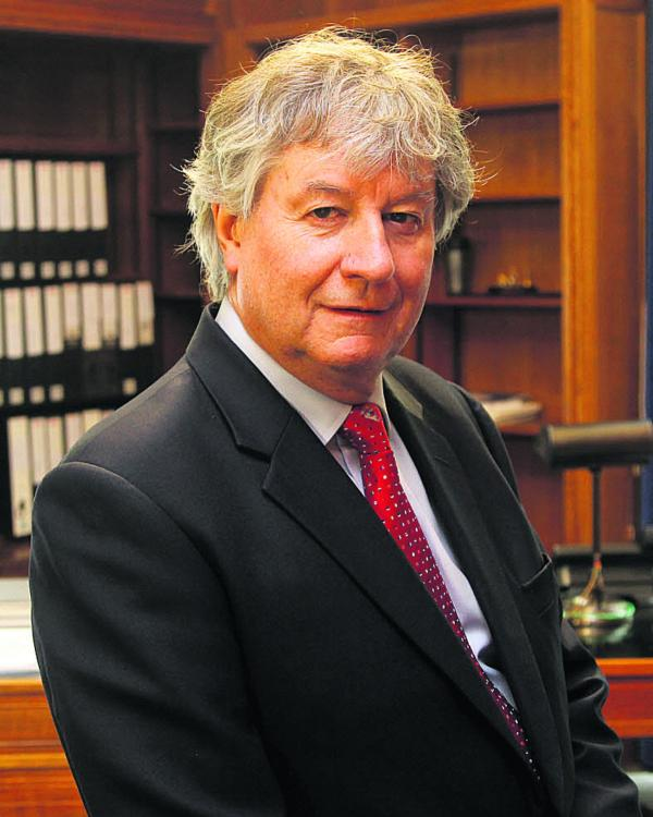Sir Adrian Smith, new chairman of the Diamond Light Source