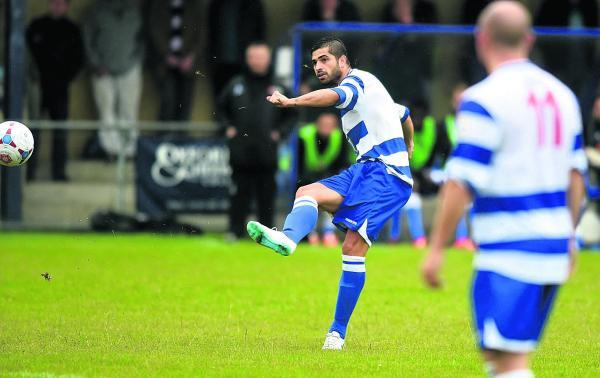 Oxford City's Alejandro-Adrian Santiago serves a one-match ban and misses the match at Harrogate tomorrow