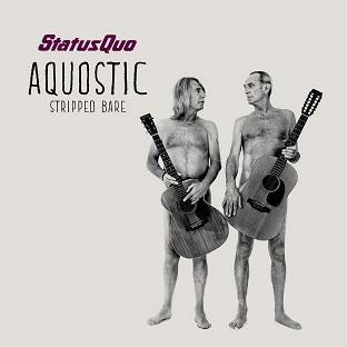 Rick Parfitt and Francis Rossi bare all on the cover of new album Aquosti