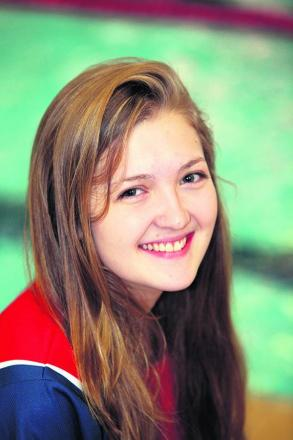 Rosie Bancroft came sixth in Olympic pool