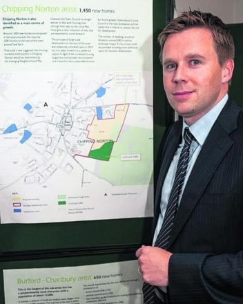 West Oxfordshire District Council's planning policy manager Chris Hargreaves
