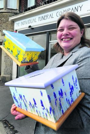 Funeral director Lucy Jane has been  nominated for an award. Picture: OX69525 Jon Lewis