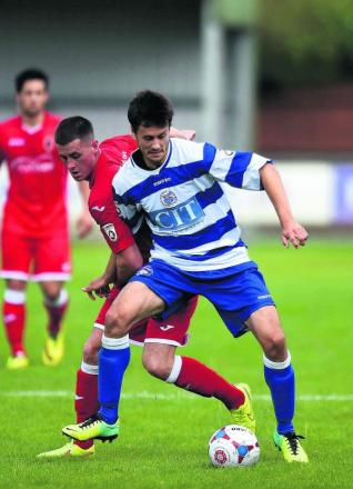 Jose Lapoujade is hoping to be fit to take on AFC Fylde at Marsh Lane tomorrow