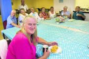 Liz Helliwell, front, set up Friendleys as a group to help elderly and isolated residents in Blackbird Leys get together