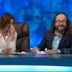 Oxford Mail: Dave Myers with Susie Dent on Countdown