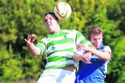 Jimmy Deabill scored a five-timer in BSSC Abba's 7-0 win at Exeter Rangers