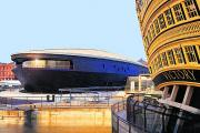 The new Mary Rose Museum and the Victory