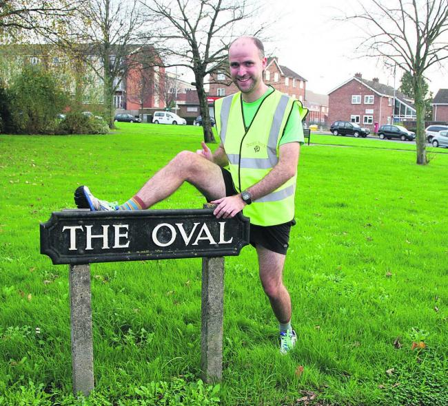Trev Williams, who has set up a running group.  Picture: OX70900 Steve Wheeler