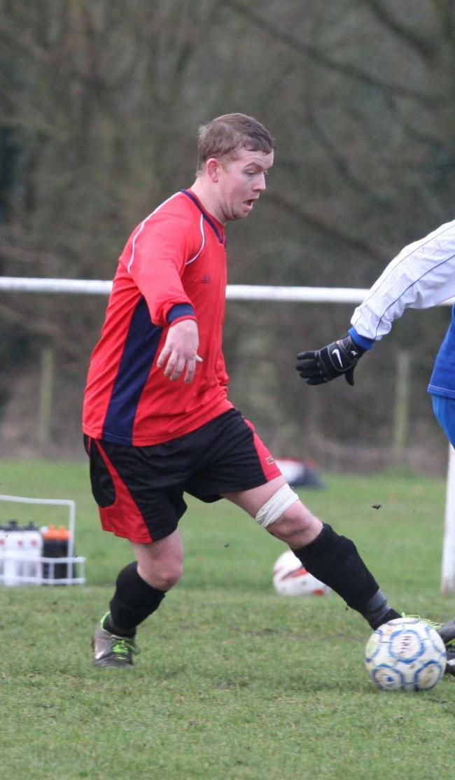 Luke Cuff hit a hat-trick in Barton United's 15-0 demolition of Freeland Yeoman