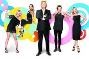 This year's presenters: Fearne Cotton, Rochelle Humes, Terry Wogan, Nick Grimshaw and Tess Daly