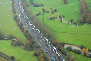 Adding extra lanes to A34 through Oxfordshire could cost £800m