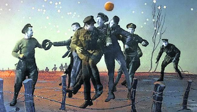 The Christmas Truce artwork