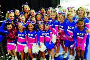 Elite Cheer United of Bicester took part in the UK Cheerleading Association Winter Championships