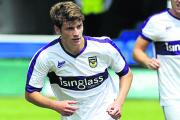 Josh Ashby featured prominently in Oxford United's pre-season