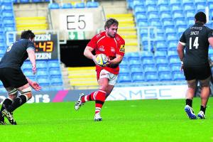 RUGBY: Nathan Morris hoping to get chance to pit his wits against the best