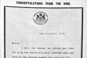 The letter from the king