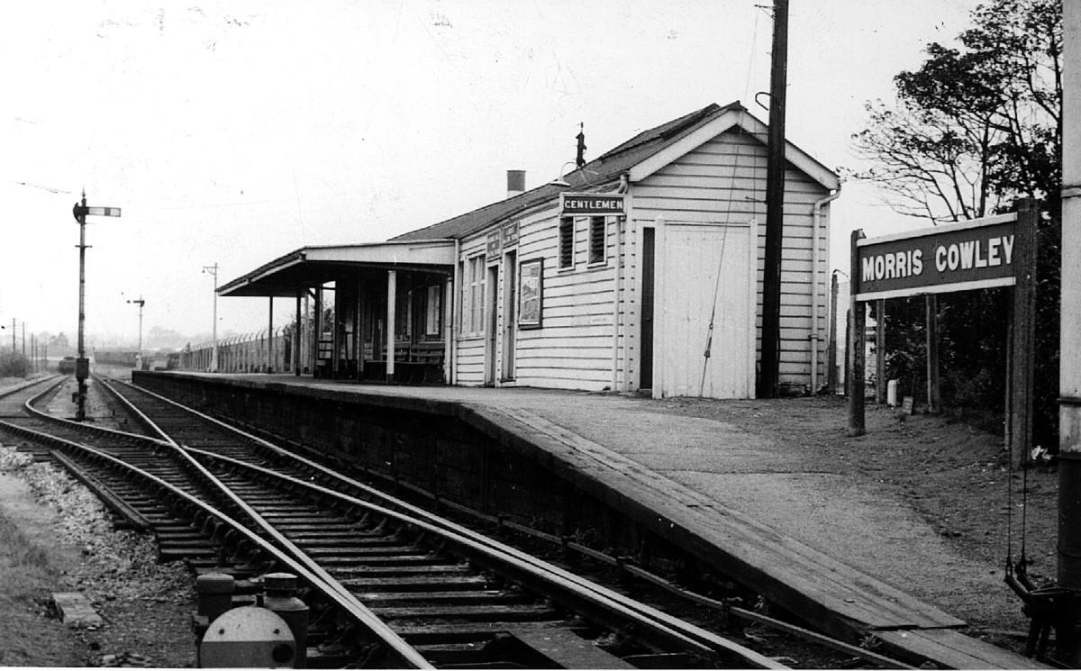 Morris Cowley Railway Station Photo 5 Littlemore Wheatley Oxford to Thame.