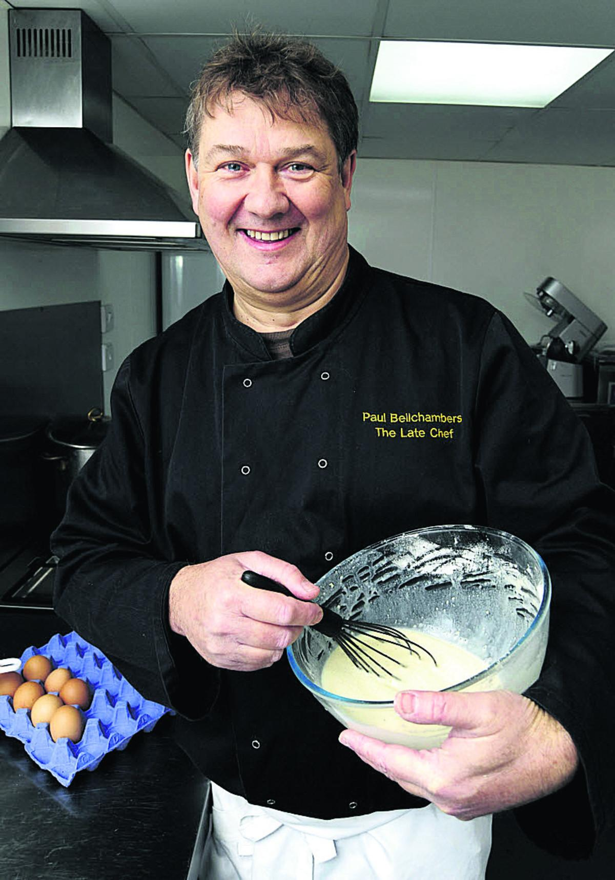 Chef Paul Bellchambers is cooking up a mouthwatering programme