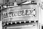 Camille Adamson pictured on a ride at the Mop Fair in Chipping Norton in 1983