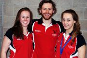 Elizabeth Oliver, Fabian Whitbread and Lucy Smith