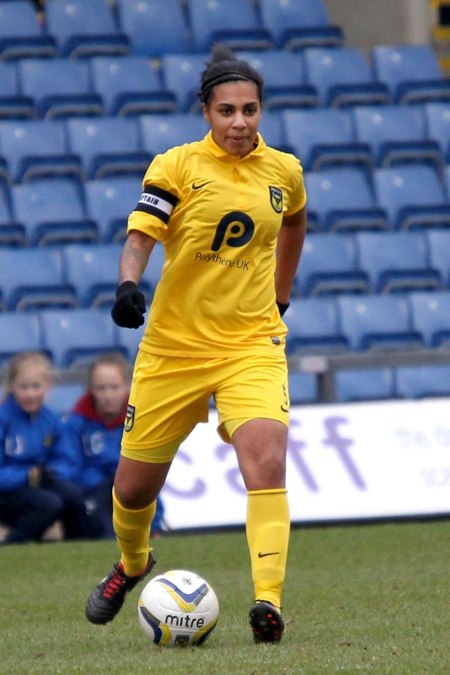 Sahara Osborne-Ricketts hit the post for Oxford United Women
