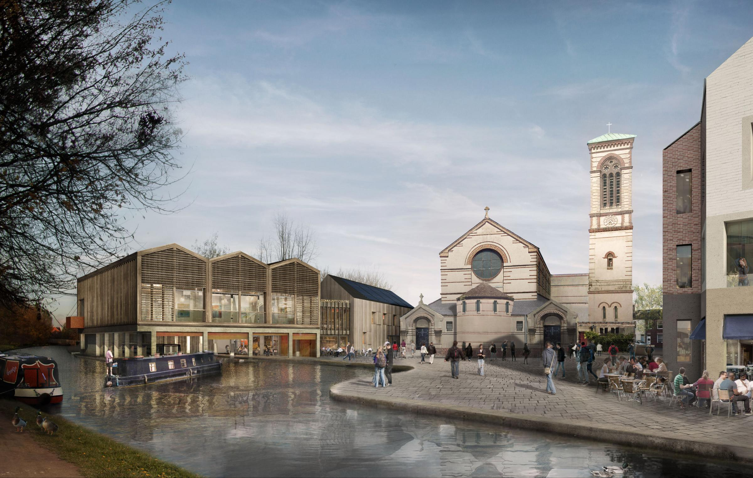 New look: An artist's impression of Jericho Boatyard
