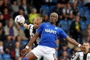 Big striker Armand Gnanduillet has joined Oxford United on loan  from Chesterfield for the rest of the season Picture Dan Westwell