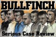 An artist's impression of the Bullfinch defendants