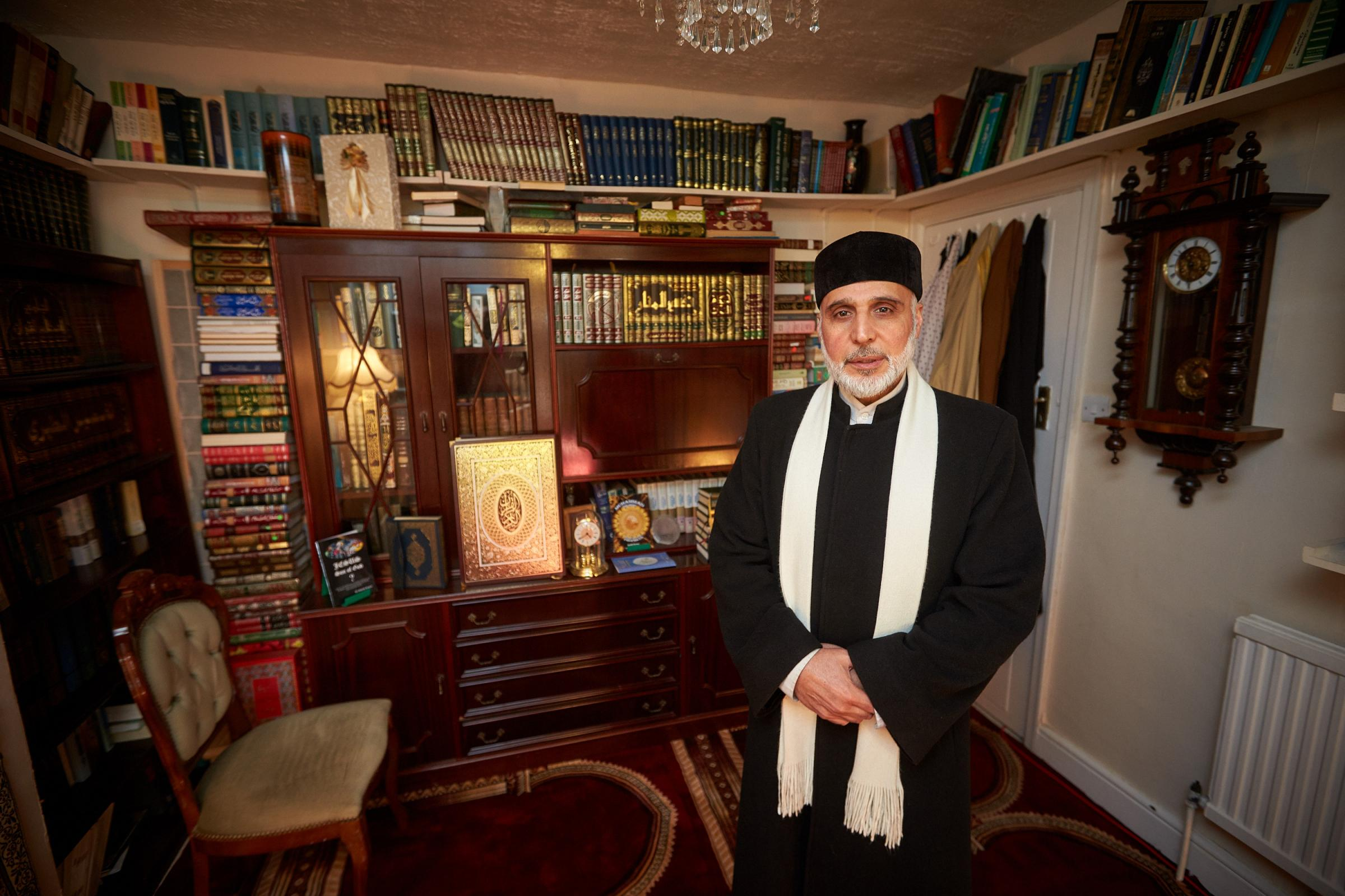 Dr Hojjat Ramzy, director of the Oxford Islamic Information Centre, wants to organise events to educate families about child sexual exploitation. Picture: Cliff Hide