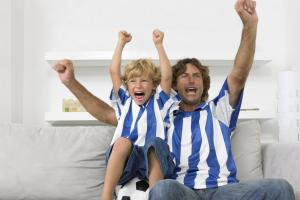 Does your family have split football loyalties?
