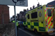 Pizza delivery worker injured after collision on scooter with car in Abingdon