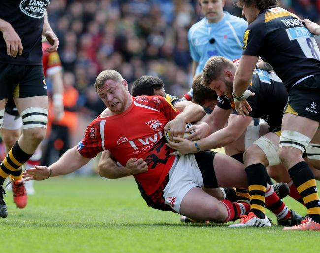Hooker Koree Britton has signed a new deal with London Welsh  Picture: Damian Halliwell